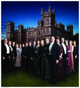 Promotional poster for Downton