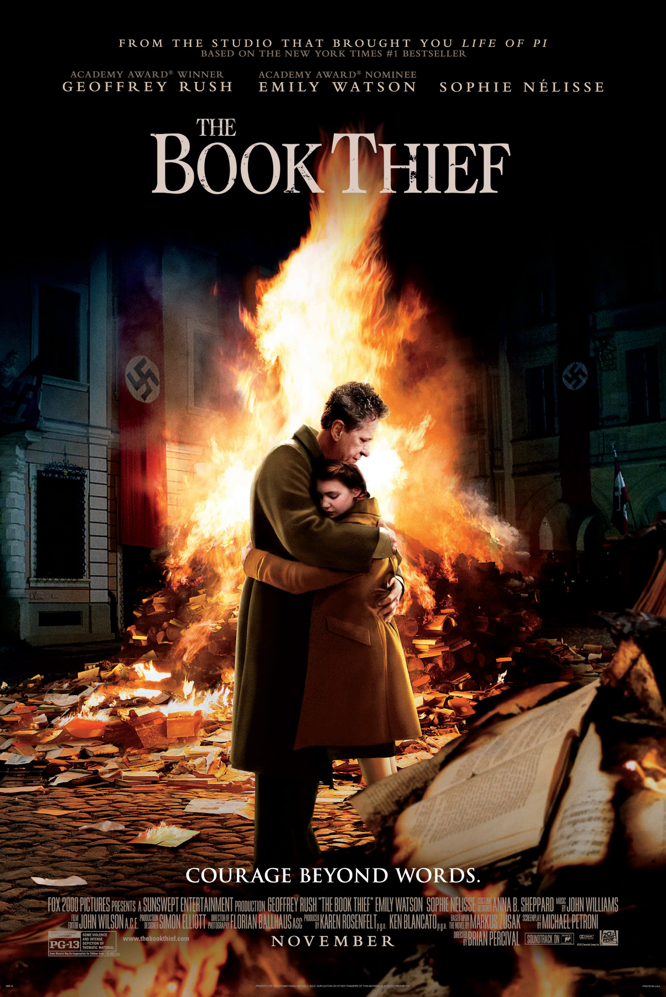 "film review ""the book thief"" houghton star courtesy of imdb com"