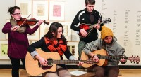 This upcoming Tuesday in Java 101 the CAB Coffeehouse will feature a bluegrass-focused performance by students Abby Talone, Zach Kitchen, Colleen Winton, and Annie Hassen. These four have been playing […]