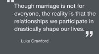 Lydia Wilson's article on Christian perspectives towards marriage in the January 24th edition of the Star both encouraged and intrigued me. Her work has often prompted me to consider my […]