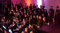 """At seven this morning, the College Choir departed for their week-long tour of the East Coast. Their path includes performances at nine different churches and several schools. """"The College Choir […]"""
